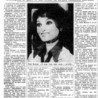 FEMI BENUSSI: INTERVISTA ALL'ICONA SEXY DEGLI ANNI 70 ( da La Stampa del 14 novembre 1977)