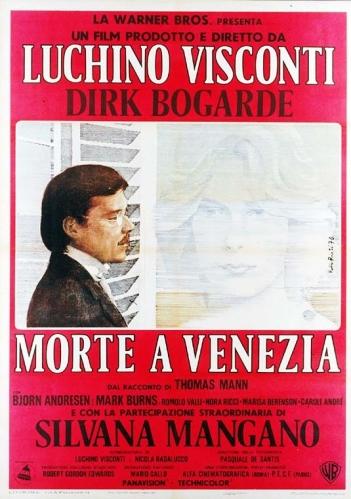 morte a venezia locandina