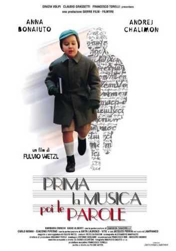 PRIMA LA MUSICA POI LE PAROLE locandina