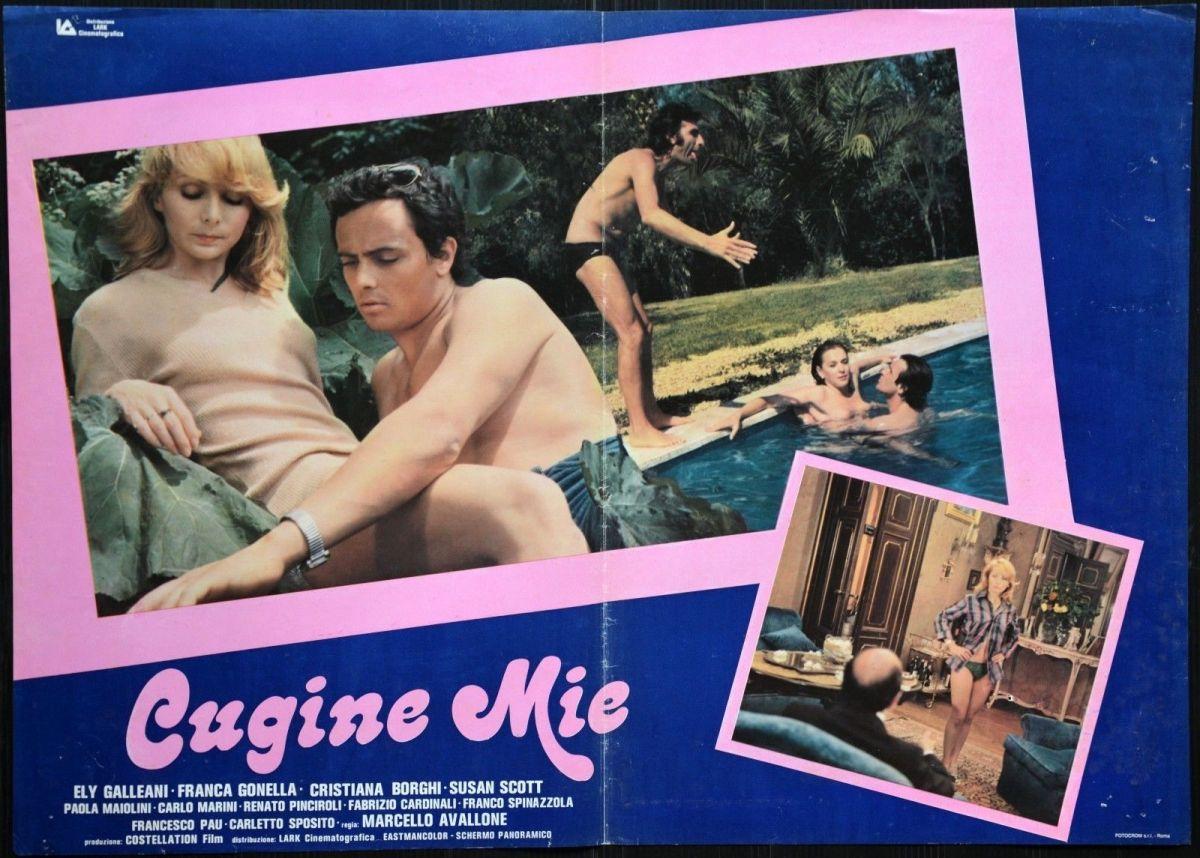 CUGINE MIE (1976) di Marcello Avallone - recensione del film