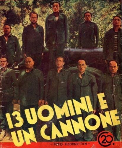 13 uomini e un cannone locandina