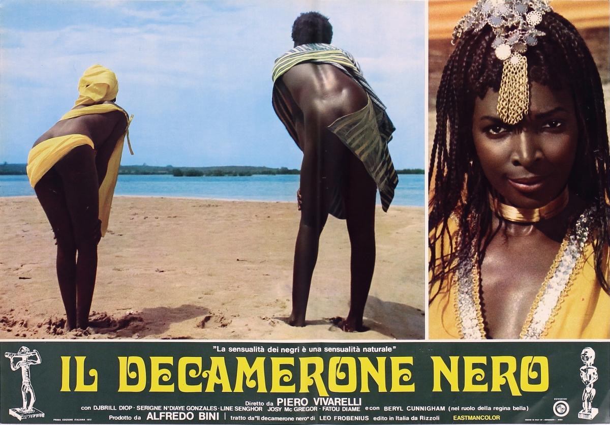 IL DECAMERONE NERO (1972) di Piero Vivarelli - recensione del film