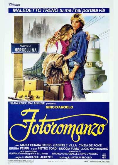 FOTOROMANZO (1986) di Mariano Laurenti locandina